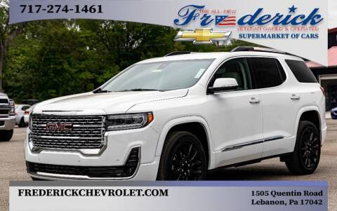 2020 GMC Acadia for sale at Lancaster Pre-Owned in Lancaster PA