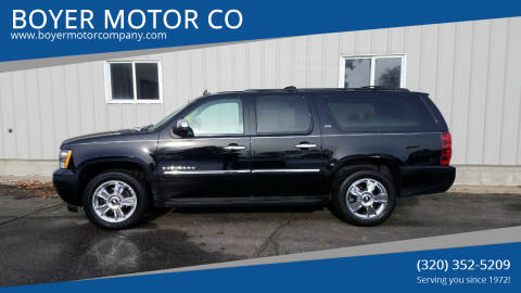 2010 Chevrolet Suburban for sale at BOYER MOTOR CO in Sauk Centre MN