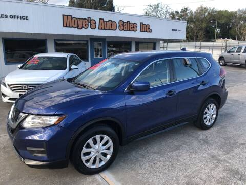 2018 Nissan Rogue for sale at Moye's Auto Sales Inc. in Leesburg FL