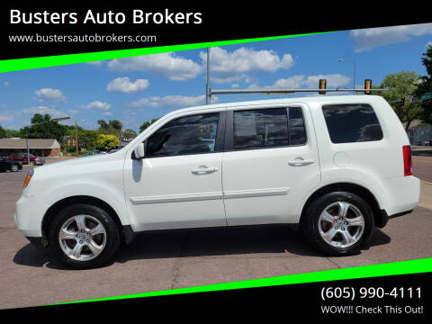 2012 Honda Pilot for sale at Busters Auto Brokers in Mitchell SD