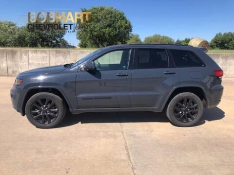 2018 Jeep Grand Cherokee for sale at BOB HART CHEVROLET in Vinita OK