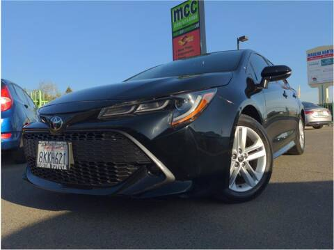 2019 Toyota Corolla Hatchback for sale at MADERA CAR CONNECTION in Madera CA