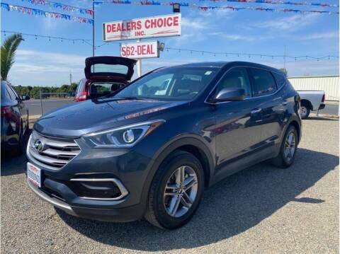2017 Hyundai Santa Fe Sport for sale at Dealers Choice Inc in Farmersville CA