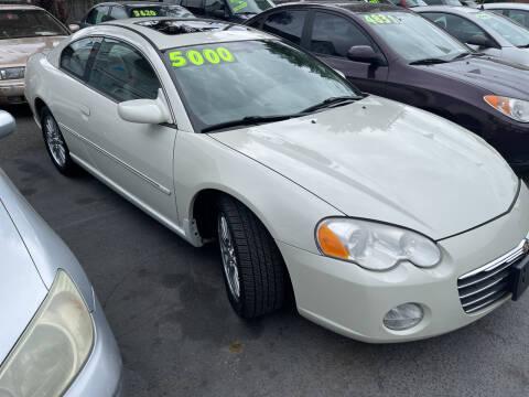 2004 Chrysler Sebring for sale at American Dream Motors in Everett WA
