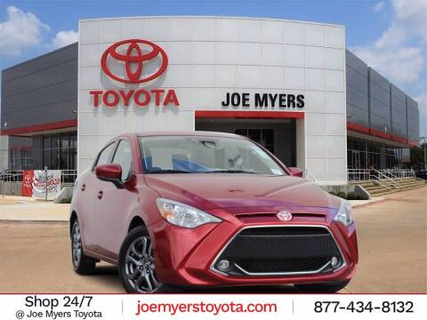 2019 Toyota Yaris for sale at Joe Myers Toyota PreOwned in Houston TX
