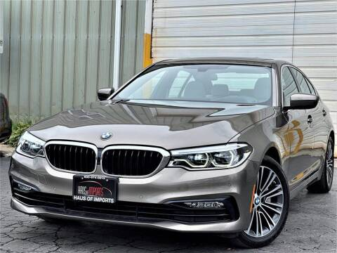2017 BMW 5 Series for sale at Haus of Imports in Lemont IL