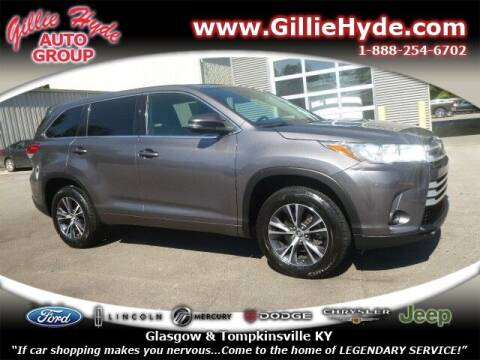 2018 Toyota Highlander for sale at Gillie Hyde Auto Group in Glasgow KY