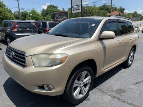 2008 Toyota Highlander for sale at Modern Automotive in Boiling Springs SC