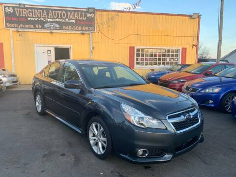 2013 Subaru Legacy for sale at Virginia Auto Mall in Woodford VA