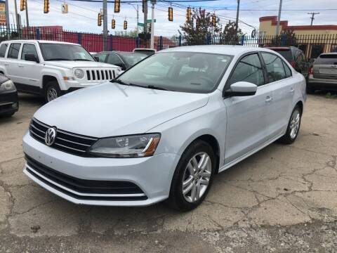 2017 Volkswagen Jetta for sale at SKYLINE AUTO in Detroit MI