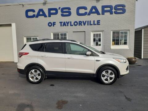 2013 Ford Escape for sale at Caps Cars Of Taylorville in Taylorville IL