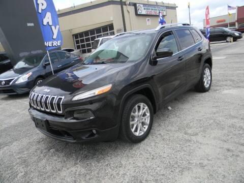 2014 Jeep Cherokee for sale at Meridian Auto Sales in San Antonio TX