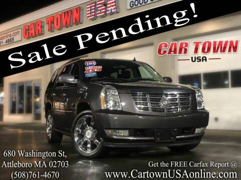 2010 Cadillac Escalade for sale at Car Town USA in Attleboro MA