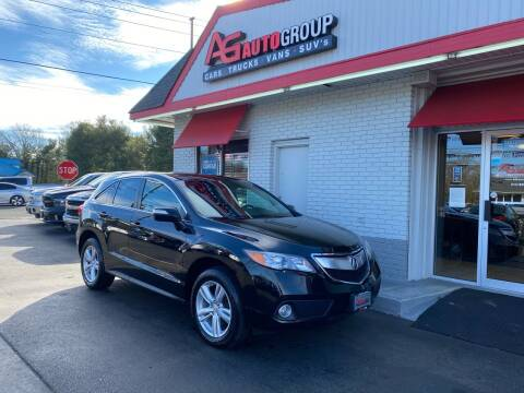2015 Acura RDX for sale at AG AUTOGROUP in Vineland NJ