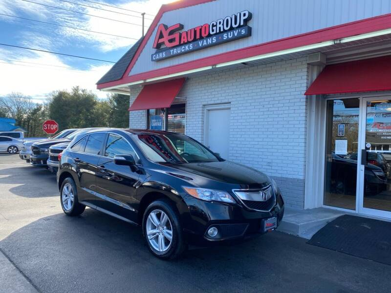 2015 Acura RDX for sale at AG AUTOGROUP in Vineland NJ