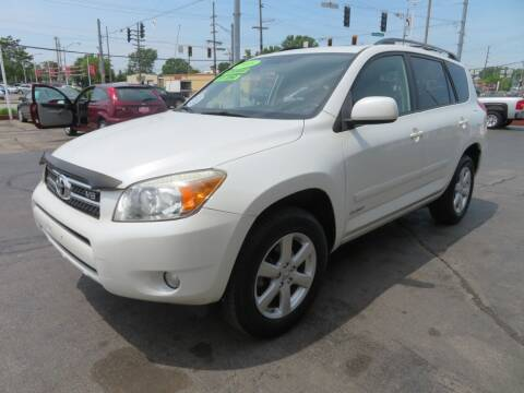 2008 Toyota RAV4 for sale at Bells Auto Sales in Hammond IN
