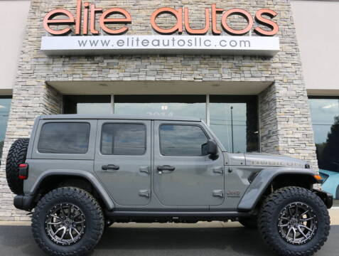 2021 Jeep Wrangler Unlimited for sale at Elite Autos LLC in Jonesboro AR