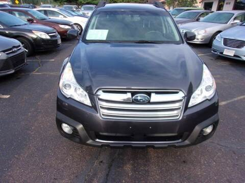 2013 Subaru Outback for sale at Welkes Auto Sales & Service in Eau Claire WI
