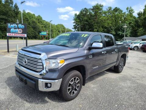 2017 Toyota Tundra for sale at Let's Go Auto in Florence SC