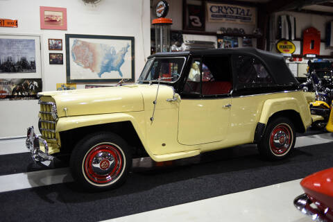 1950 Willys Jeepster for sale at Crystal Motorsports in Homosassa FL