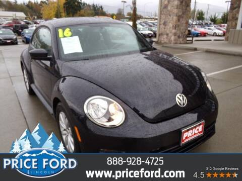 2016 Volkswagen Beetle for sale at Price Ford Lincoln in Port Angeles WA