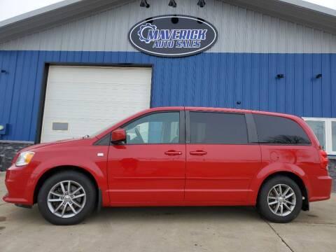 2014 Dodge Grand Caravan for sale at Maverick Automotive in Arlington MN