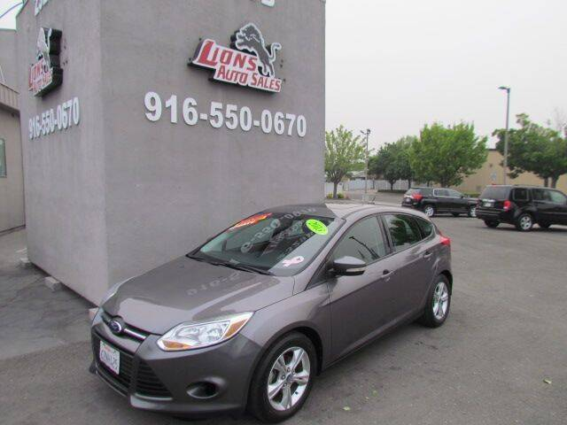 2013 Ford Focus for sale at LIONS AUTO SALES in Sacramento CA