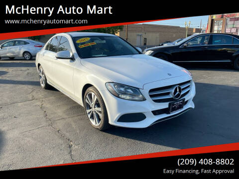 2015 Mercedes-Benz C-Class for sale at McHenry Auto Mart in Turlock CA