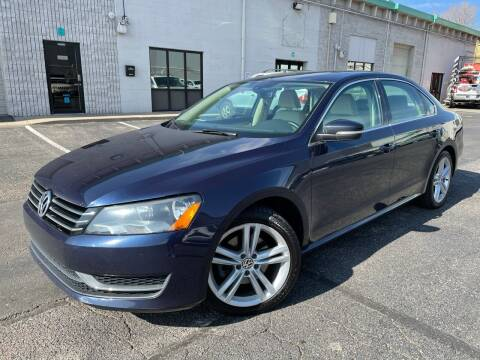 2014 Volkswagen Passat for sale at Zapp Motors in Englewood CO