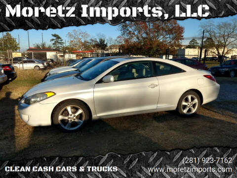 2005 Toyota Camry Solara for sale at Moretz Imports, LLC in Spring TX