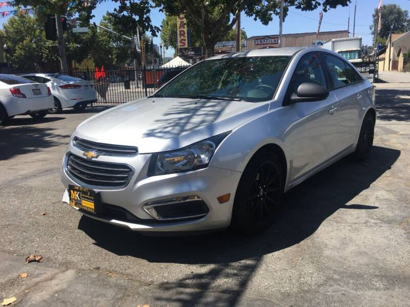 2016 Chevrolet Cruze Limited for sale at MK Auto Wholesale in San Jose CA