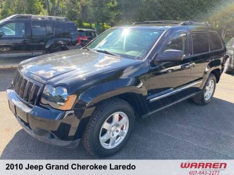 2010 Jeep Grand Cherokee for sale at Warren Auto Sales in Oxford NY