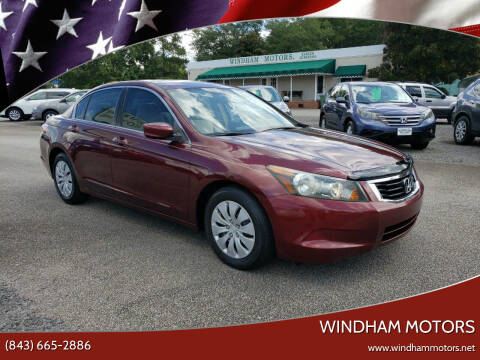 2008 Honda Accord for sale at Windham Motors in Florence SC