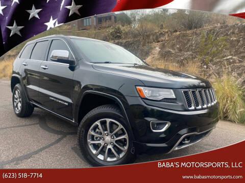 2014 Jeep Grand Cherokee for sale at Baba's Motorsports, LLC in Phoenix AZ