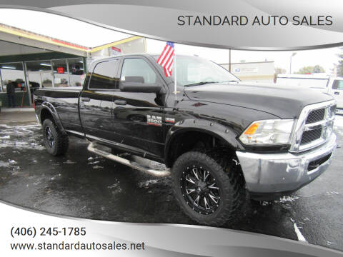 2014 RAM Ram Pickup 3500 for sale at Standard Auto Sales in Billings MT