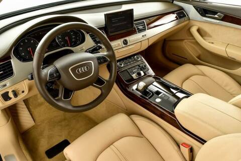 2014 Audi A8 for sale at CU Carfinders in Norcross GA
