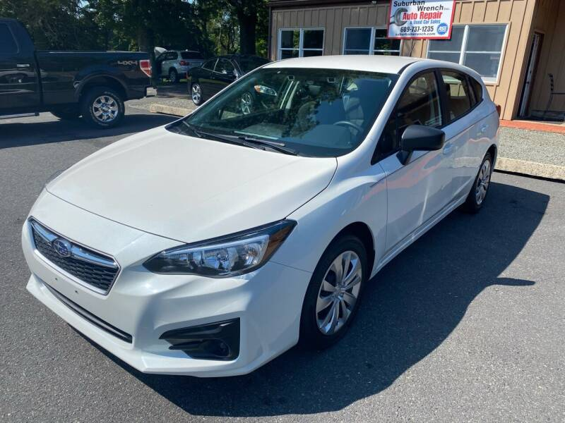 2019 Subaru Impreza for sale at Suburban Wrench in Pennington NJ