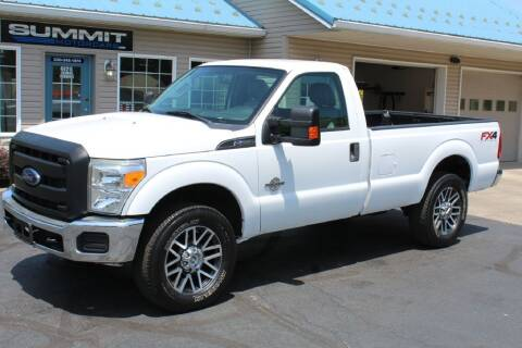 2015 Ford F-250 Super Duty for sale at Summit Motorcars in Wooster OH