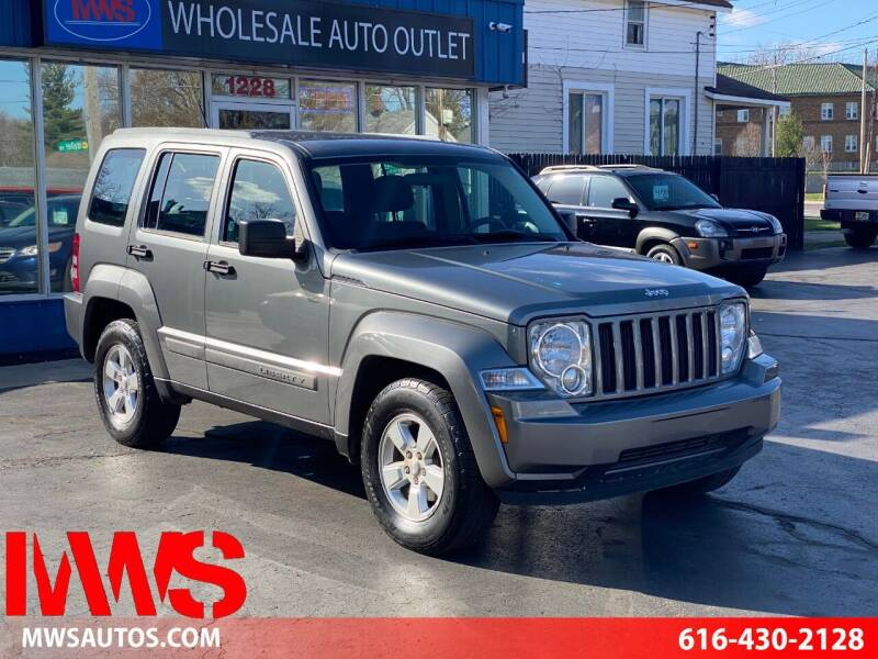 2012 Jeep Liberty for sale at MWS Wholesale  Auto Outlet in Grand Rapids MI