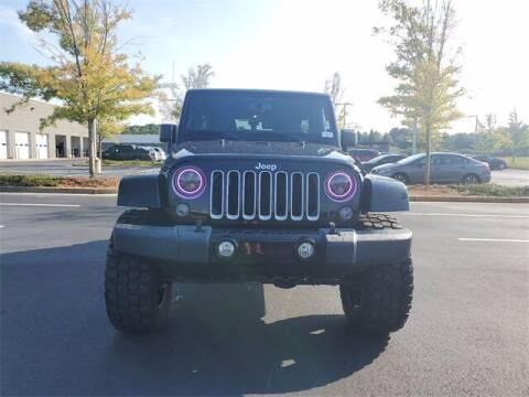 2018 Jeep Wrangler JK Unlimited for sale at Lou Sobh Kia in Cumming GA