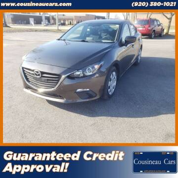 2015 Mazda MAZDA3 for sale at CousineauCars.com - Guaranteed Credit Approval in Appleton WI