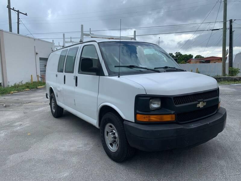 2011 Chevrolet Express Cargo for sale at MIAMI FINE CARS & TRUCKS in Hialeah FL