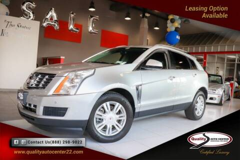 2013 Cadillac SRX for sale at Quality Auto Center of Springfield in Springfield NJ