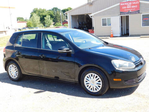 2011 Volkswagen Golf for sale at Macrocar Sales Inc in Akron OH