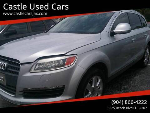 2007 Audi Q7 for sale at Castle Used Cars in Jacksonville FL