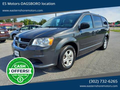 2011 Dodge Grand Caravan for sale at ES Motors-DAGSBORO location in Dagsboro DE