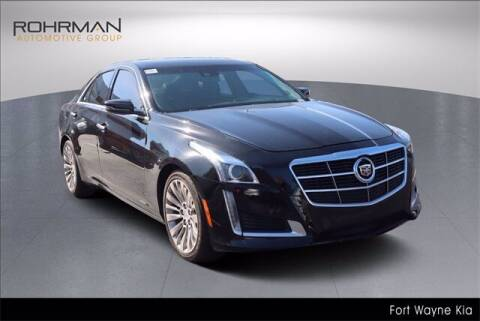 2014 Cadillac CTS for sale at BOB ROHRMAN FORT WAYNE TOYOTA in Fort Wayne IN