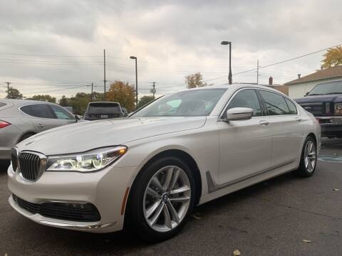 2017 BMW 7 Series for sale at A 1 Motors in Monroe MI
