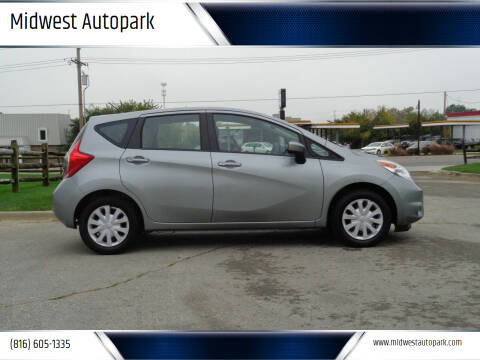 2015 Nissan Versa Note for sale at Midwest Autopark in Kansas City MO