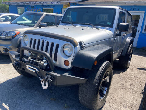 2011 Jeep Wrangler for sale at The Peoples Car Company in Jacksonville FL